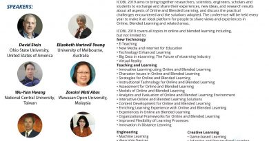ICOBL 2019 – International Conference on Online and Blended Learning